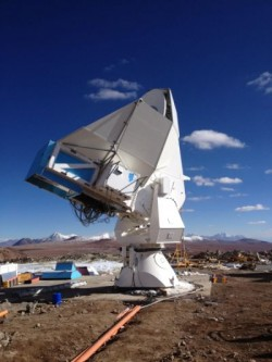 """POLARBEAR experiment showing first microwave/radio """"vision"""""""