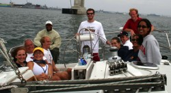 2005 REU Physics of Sailing Trip