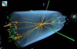 Hunt for Higgs reveals new particle.