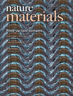 UCSD Physicist Sunil Sinha has cover article published in the December 2012 edition of Nature Materials Magazine.