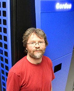 UCSD Physicist Frank Wuerthwein is using SDSC's Gordon Supercomputer to crunch data sets from almost one billion particle collisions.